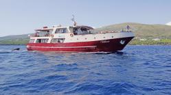 ninicruiser vollcharter in kroatien, kreuzfahrt mit ms vima ab trogir