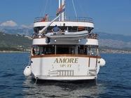 motorsegler vollcharter in kroatien, kreuzfahrt mit ms amore ab trogir